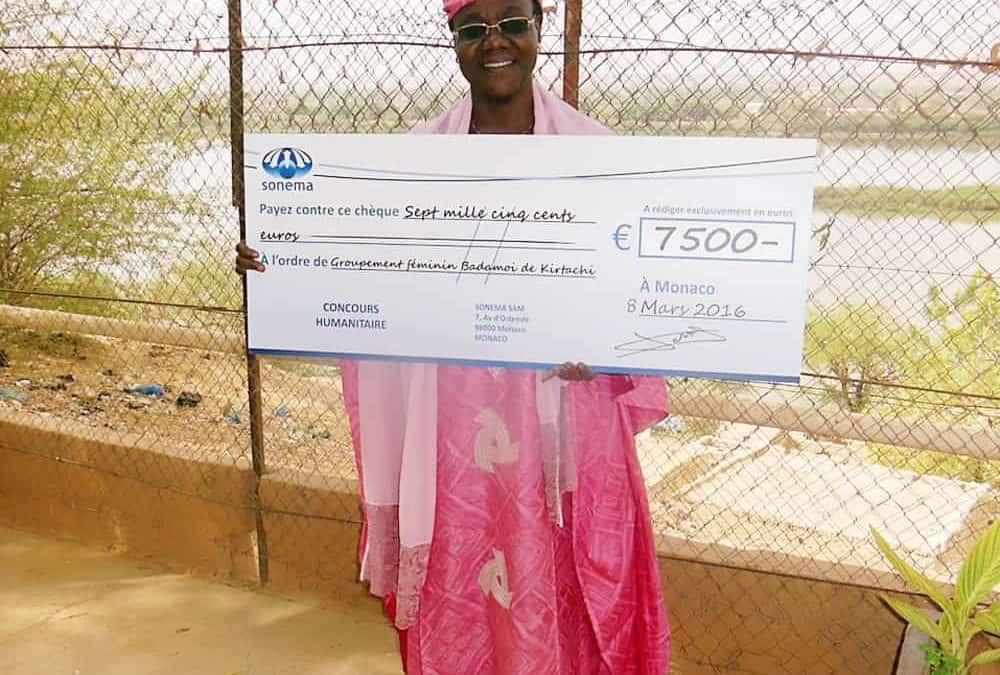 Une maternité du Niger aidée par Sonema