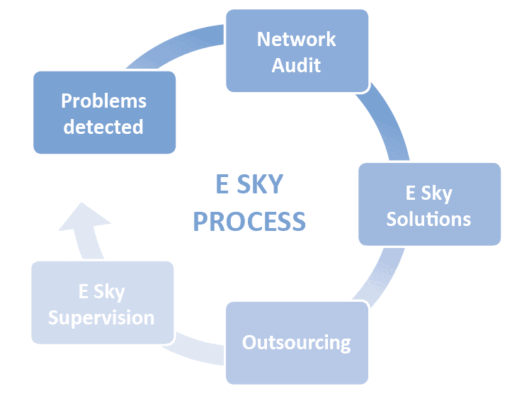 Optimize the performance of your applications with our E Sky process!