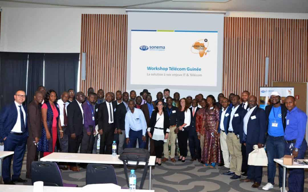 Sonema and Afribone hold a joint workshop in Conakry about the IT and Telecoms issues facing Guinean businesses