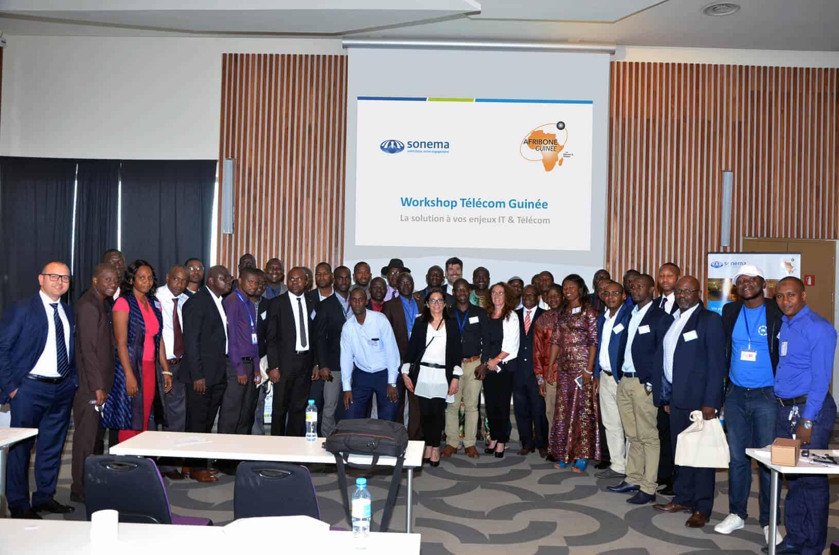 Sonema et Afribone: un workshop commun à Conakry sur les enjeux IT et télécom des entreprises guinéennes