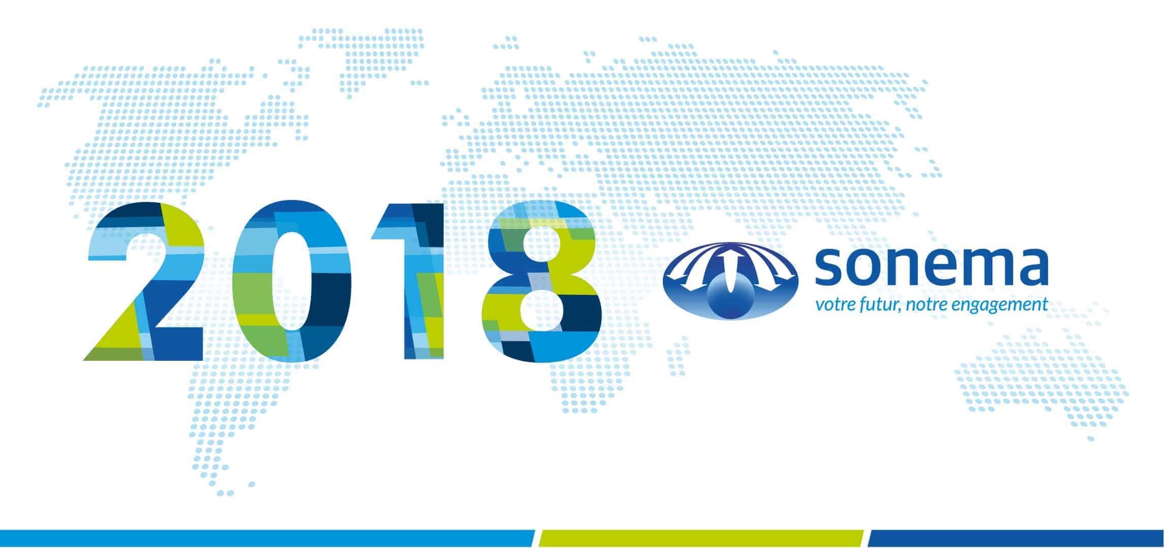 Sonema vous souhaite une très belle année 2018