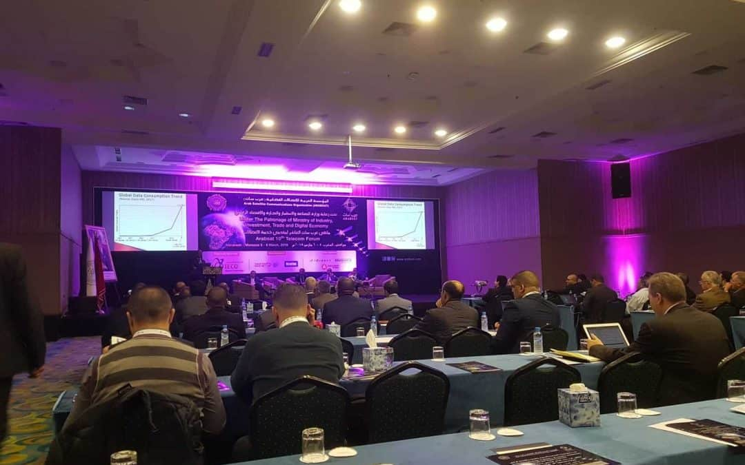 SONEMA attends the 2018 ARABSAT forum in Marrakesh