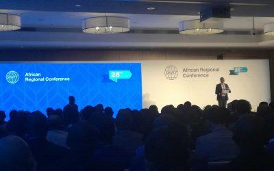 SONEMA participe à la 25eme édition « SWIFT African Regional Conference»  en collaboration avec notre partenaire AEG