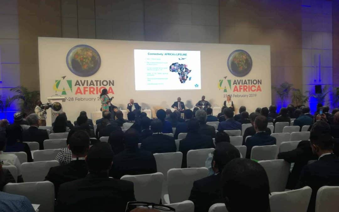Sonema participe à la 4ème édition du Sommet Aviation Africa 2019